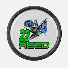 Reed 14 Large Wall Clock