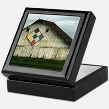 Only Memories, A Barn That Once Was Keepsake Box