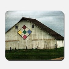 Only Memories, A Barn That Once Was Mousepad