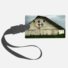 Only Memories, A Barn That Once  Luggage Tag