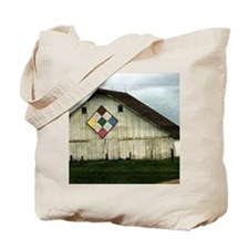 Only Memories, A Barn That Once Was Tote Bag