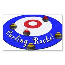 Curling Rocks! Decal