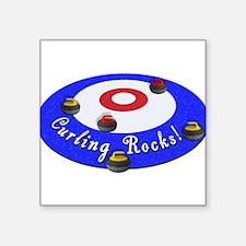 Curling Rocks! Sticker
