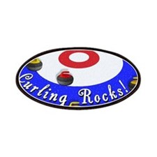 Curling Rocks! Patches