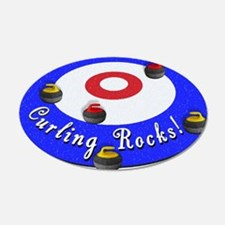 Curling Rocks! Wall Decal
