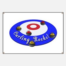 Curling Rocks! Banner