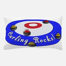 Curling Rocks! Pillow Case