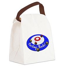 Curling Rocks! Canvas Lunch Bag