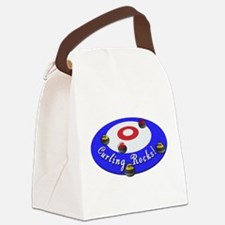 Curling Rocks! Canvas Lunch Bag