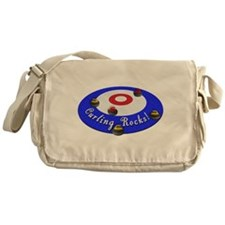 Curling Rocks! Messenger Bag