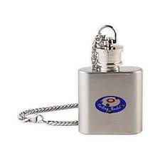 Curling Rocks! Flask Necklace