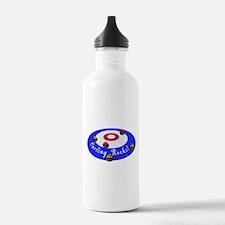 Curling Rocks! Water Bottle