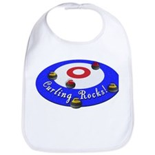 Curling Rocks! Bib