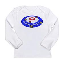 Curling Rocks! Long Sleeve T-Shirt