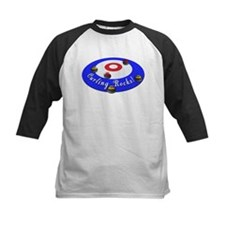 Curling Rocks! Baseball Jersey