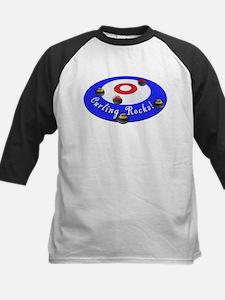 Curling Rocks! Baseball Jersey