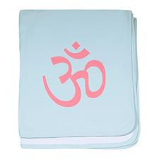 Yoga Ohm, Om Symbol, Namaste baby blanket