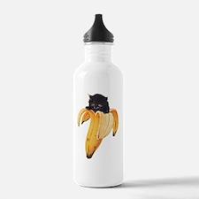 Banana Kitty Water Bottle