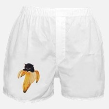 Banana Kitty Boxer Shorts