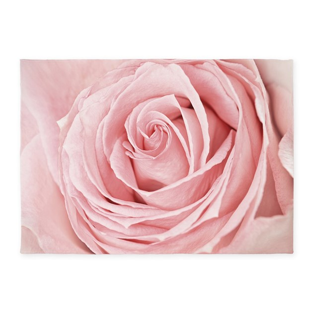 Pink Rose 5'X7'area Rug By BestGear
