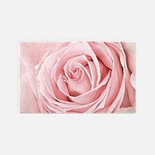 Pink Rose 3'X5' Area Rug