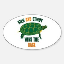 Slow and Steady Wins the Race Decal