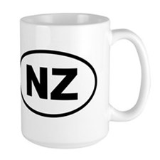 New Zealand NZ Mugs