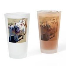 Just You And I Drinking Glass