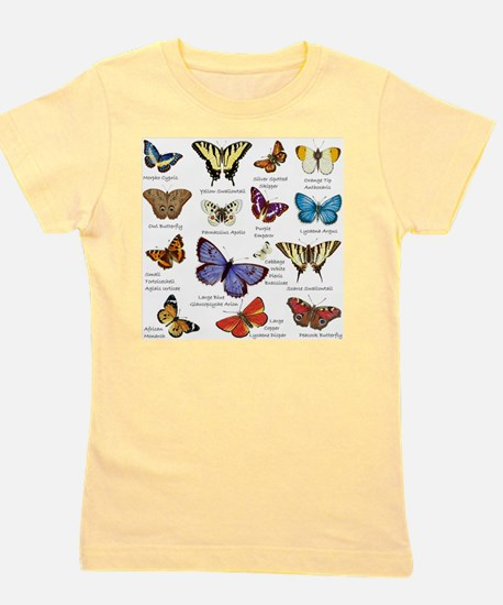 Butterfly Illustrations full colored T-Shirt