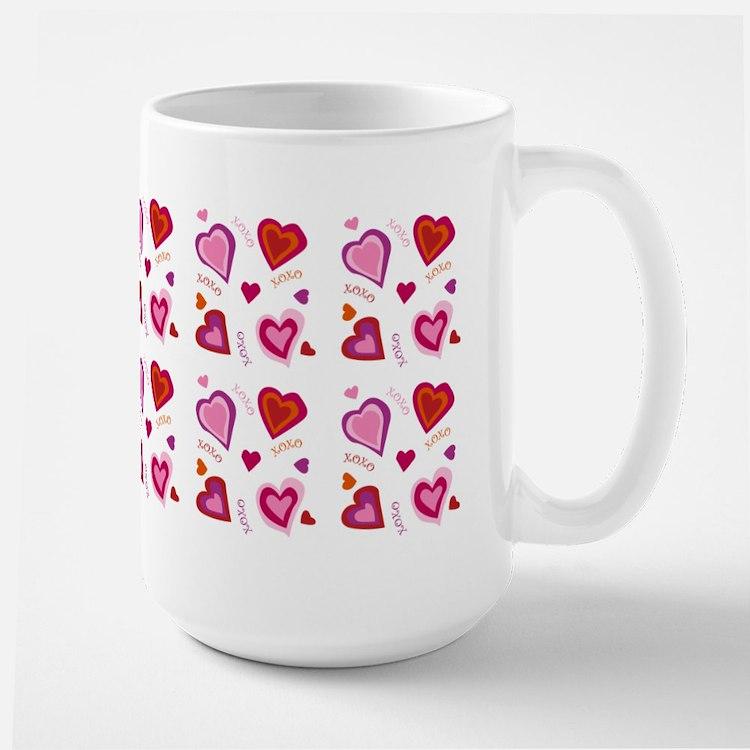 Hearts xoxo Mugs