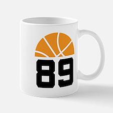 Basketball Number 89 Player Gift Mug