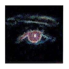 Portrait of an Eye Tile Coaster