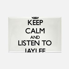 Keep Calm and listen to Jaylee Magnets