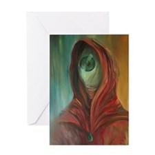 Seer Greeting Card