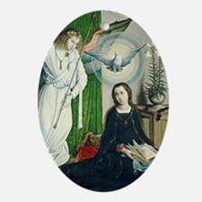 The Annunciation Oval Ornament