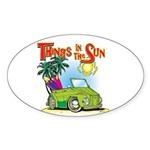 The Thing Oval Sticker