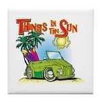The Thing Tile Coaster