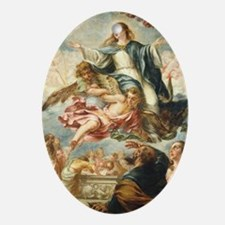 The Assumption of the Virgin Oval Ornament