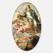 The Assumption of the Virgin Decal