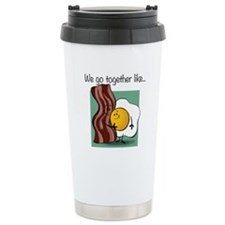 Bacon and Eggs Travel Mug