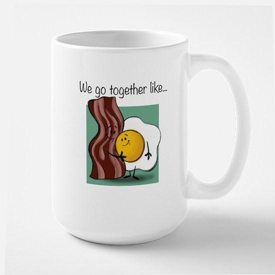 Bacon and Eggs Large Mug