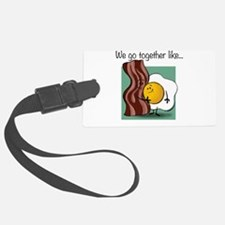Bacon and Eggs Luggage Tag