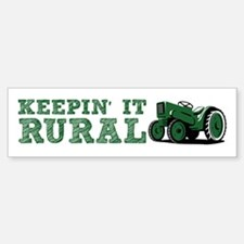Keepin It RURAL Bumper Bumper Bumper Sticker