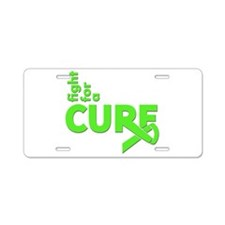 Lymphoma Fight For A Cure Aluminum License Plate