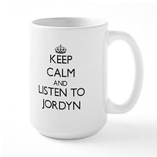 Keep Calm and listen to Jordyn Mugs