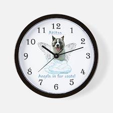 Akita Angel Wall Clock