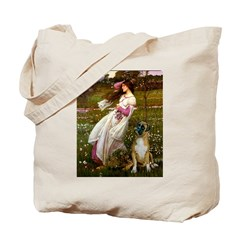 Windflowers & Boxer Tote Bag