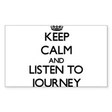 Keep Calm and listen to Journey Decal
