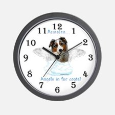 Aussie Angel Wall Clock