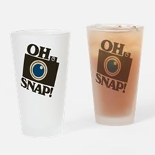 Oh Snap Photography Drinking Glass